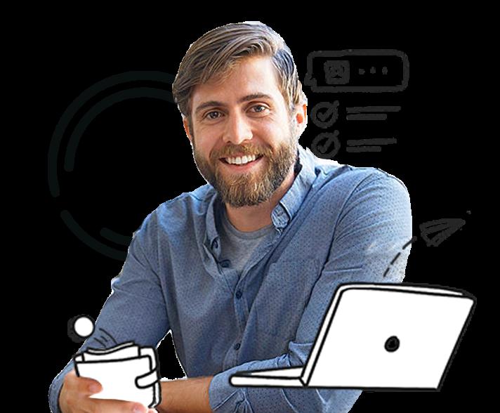 Photo of an entrepreneur